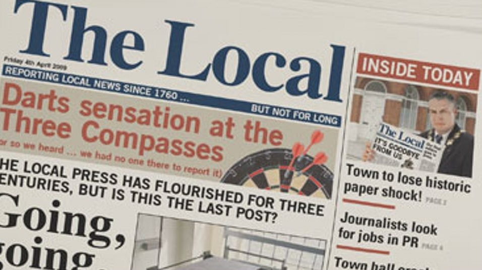 local papers Five local newspapers in upstate new york could be sold as part of a multi-billion dollar media during the previous two decades, cnhi had grown by acquisition, and bought several of its papers in.