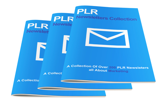 PLR Newsletters Collection with full PLR,  MRR,  RR Licence