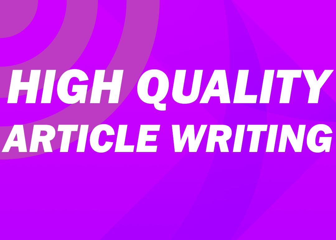 I will write creative SEO article which outranks your competitors