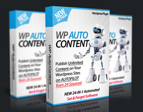 Unlimited Use WordPress Plugin Automated Content
