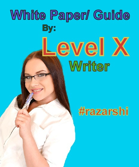 The White-paper/ Guide Writing Solution By Level X Writer