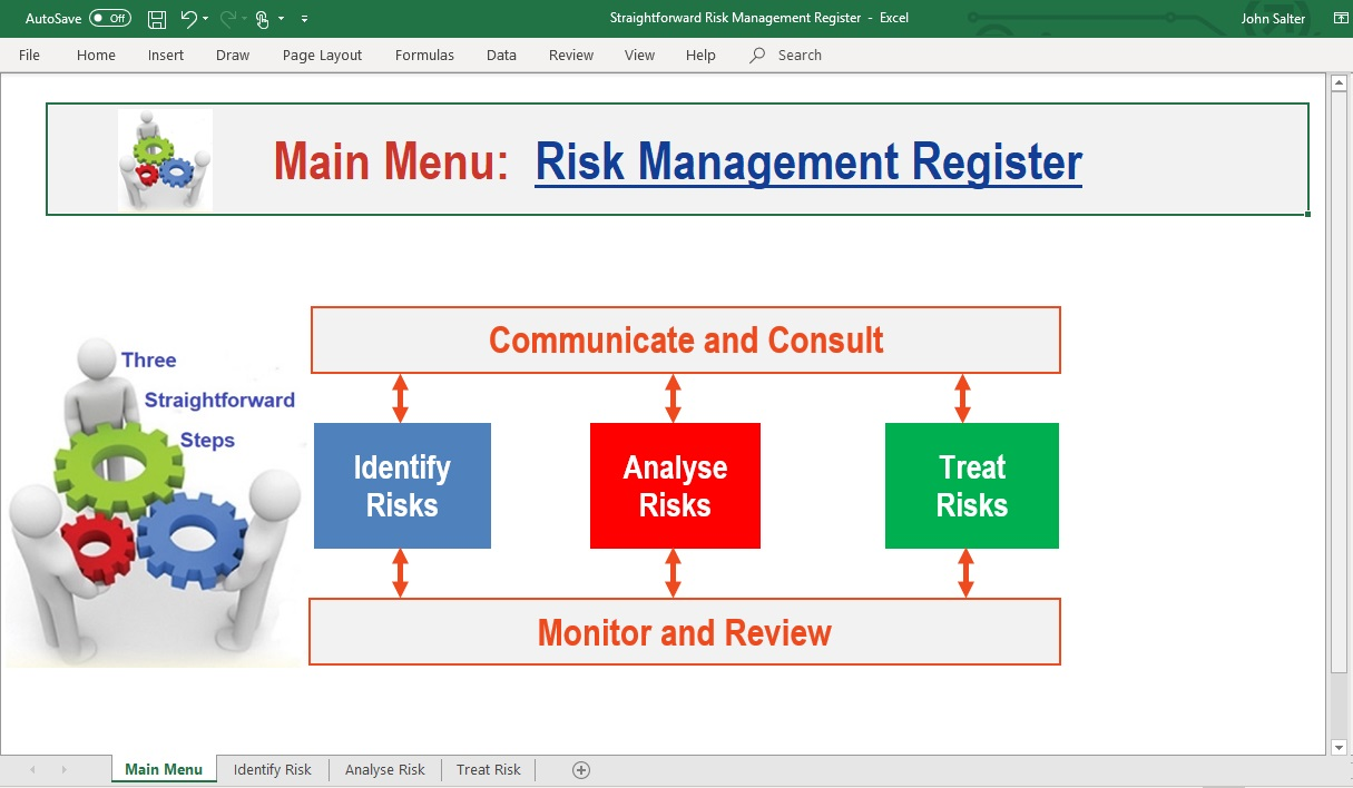 Build your tailored Risk Register