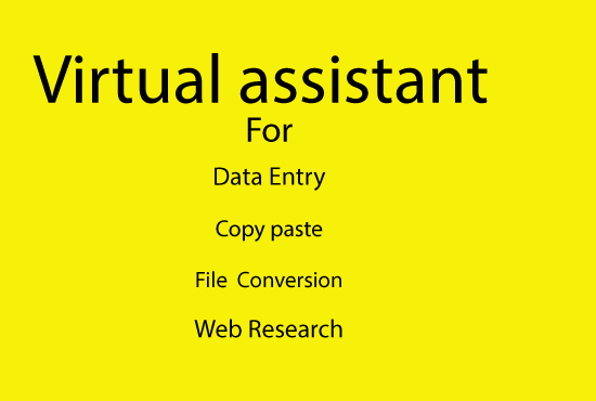 virtual assistant service for you