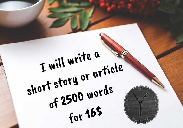 I will write a short story or article of 2000 to 2500 words
