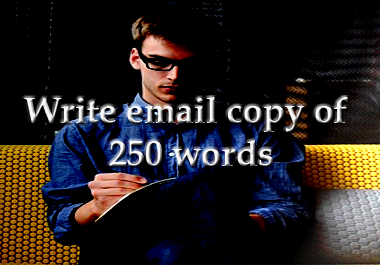 Write magnetic email copy of 250 words