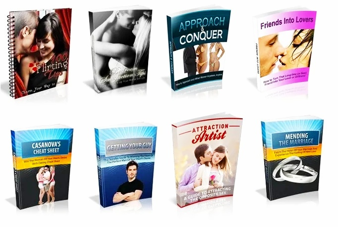100 Dating/Relationship/Romance Ebooks With MRR