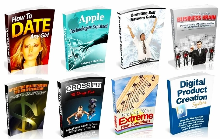 100 Quality Ebooks With Private Label Rights License