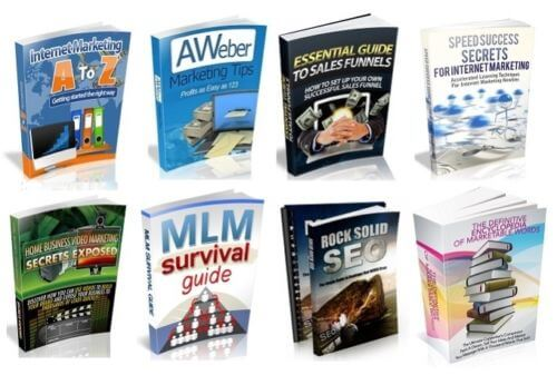 100 Marketing Ebooks With PLR & MRR