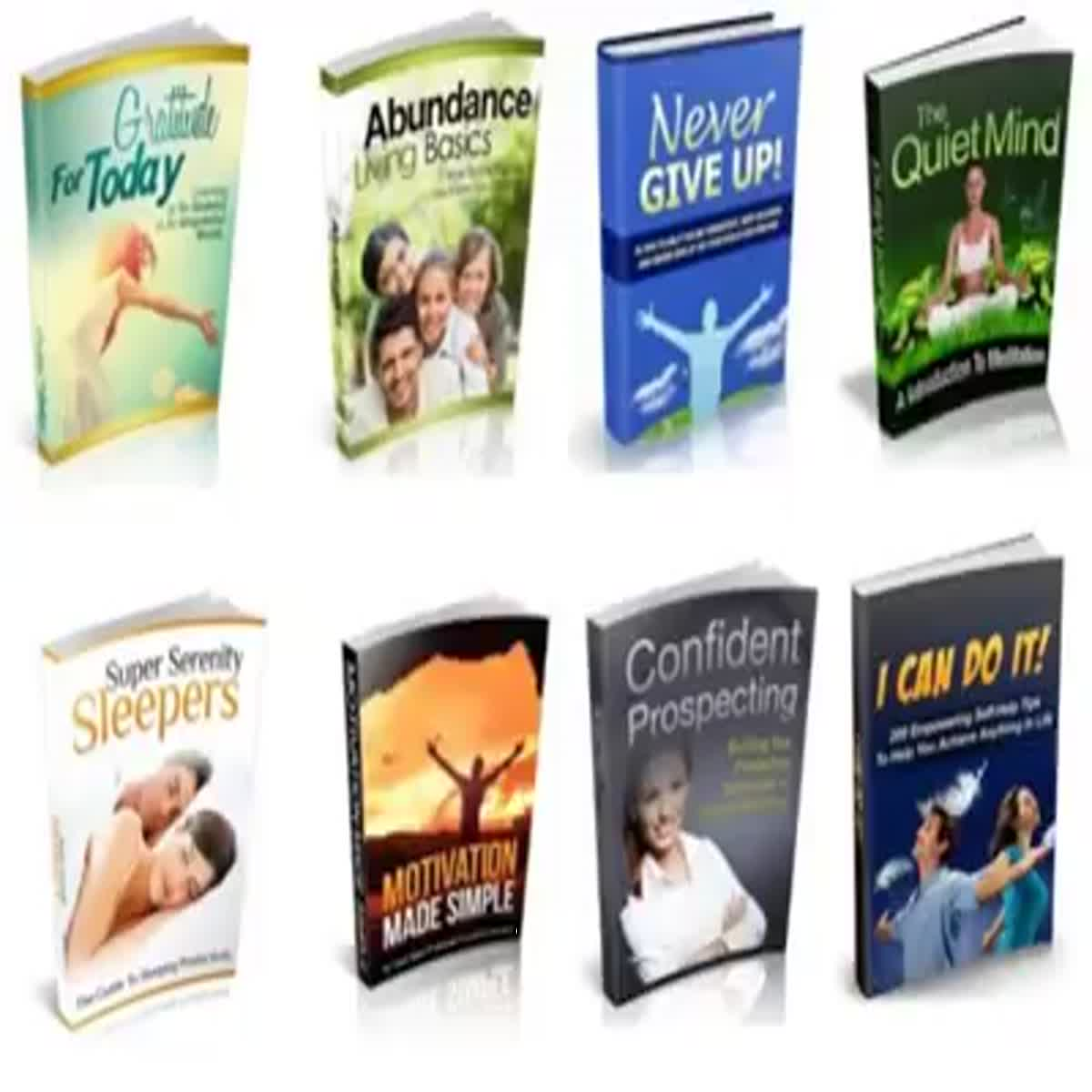 100 Self Help & Motivational Ebooks With MRR