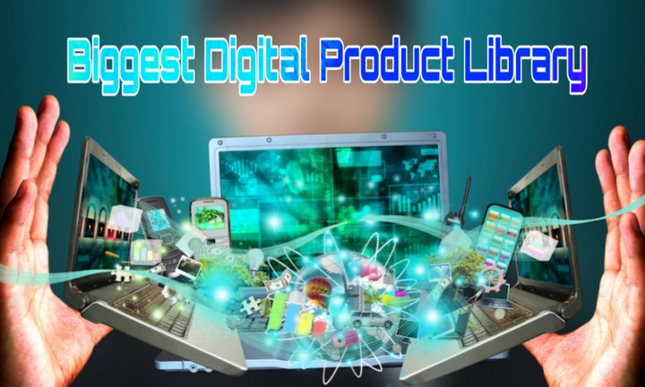 Biggest Digital Product Library - Purchase Now & Start Your Business