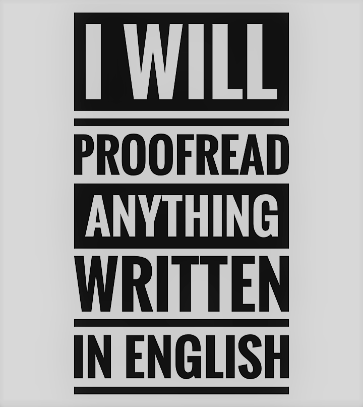 I will be your editor,  copy editor,  and do proofreading