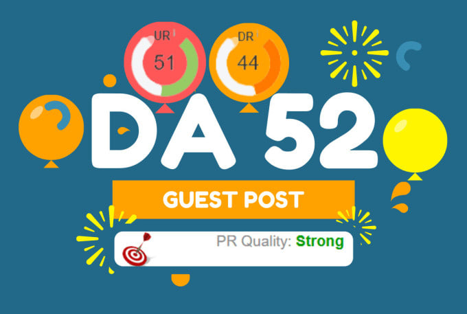 I will guest posting on da 52 google news site with dofollow