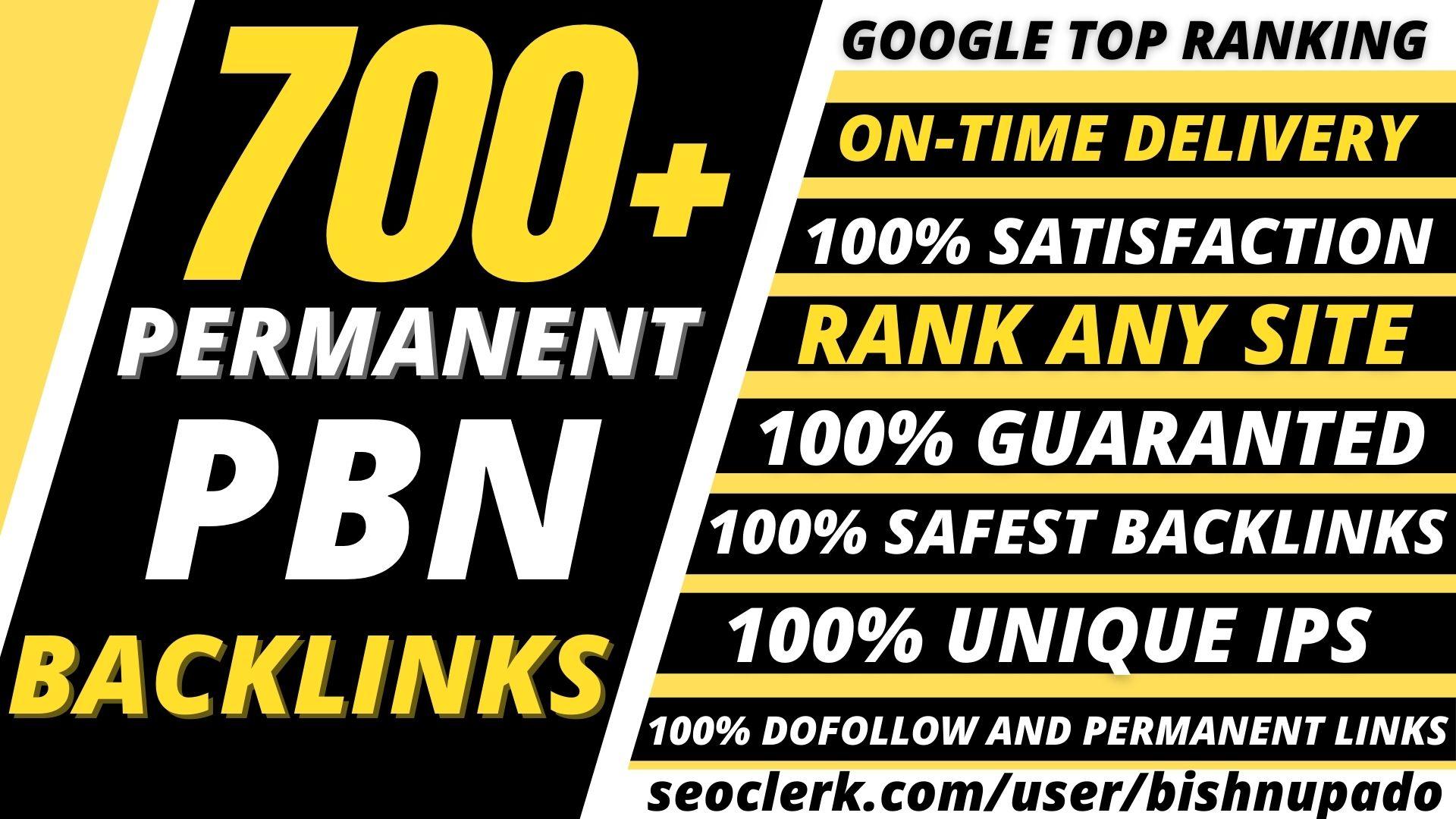 Get 700+highest Quality web2.0 link with high 70+DA