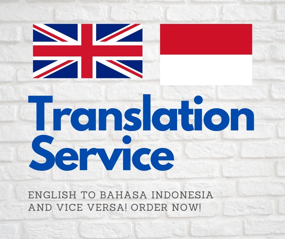 Article Translation Service from English to Indonesian Vice Versa 1000 Words