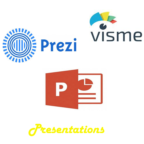 Design your MS Powerpoint, Prezi and Visme presentation