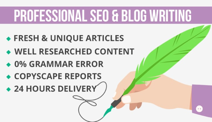 SEO Article Writing in 24 hours (1000+ words)