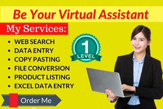 I will do a professional typing job and fast data entry work