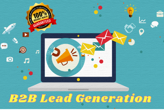 I will do b2b lead generation for your targeted business