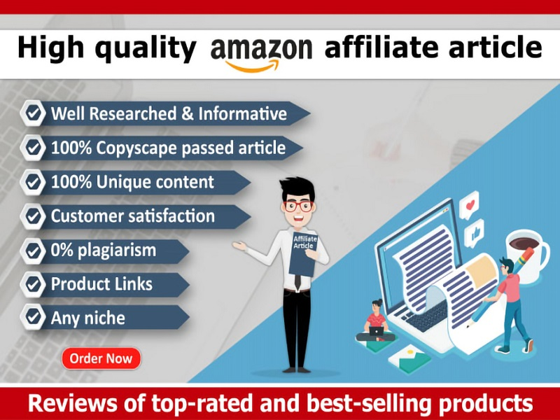 I will write 500 words SEO amazon product description & affiliate article