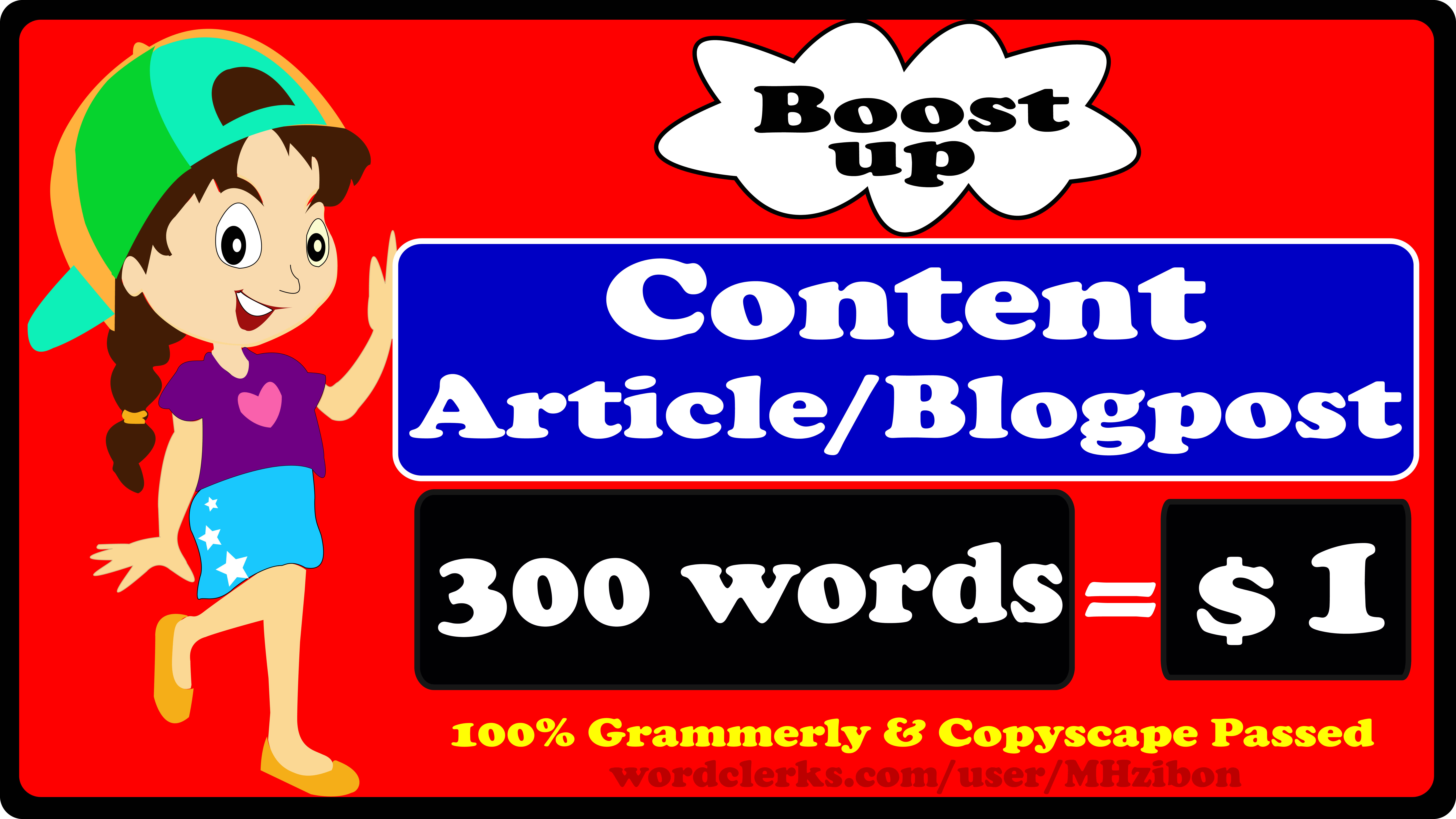 I Will Write A SEO Optimized Article