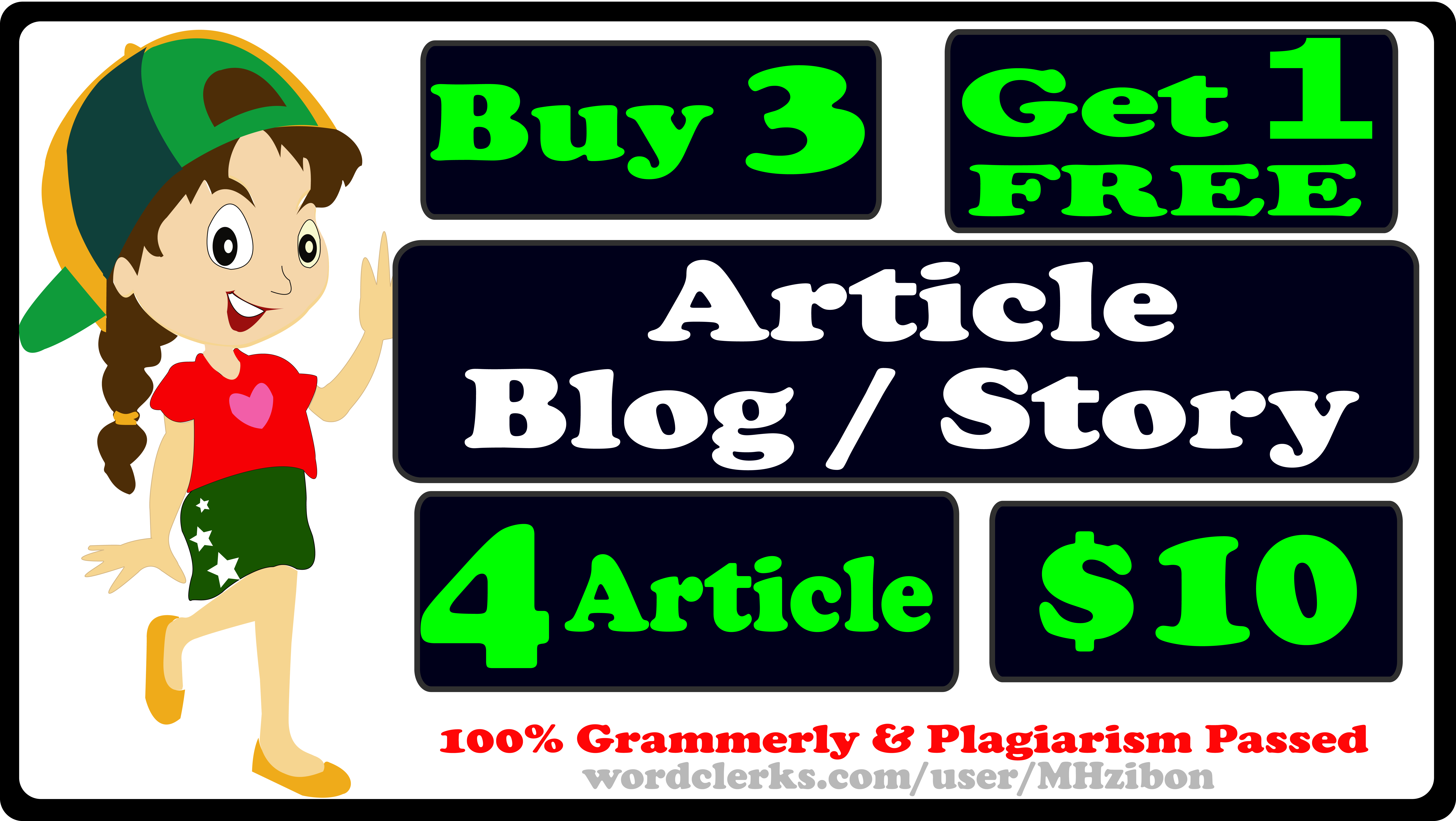 I Will Write A SEO Friendly Article