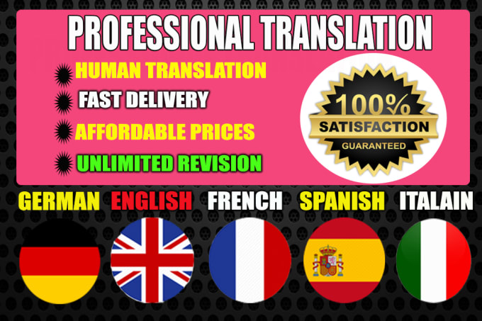 Translate Any Article Into English- Spanish-French-Italian-Arabic