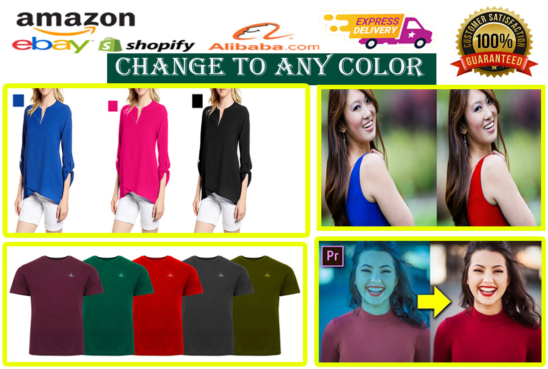I will color correction and color change for your image