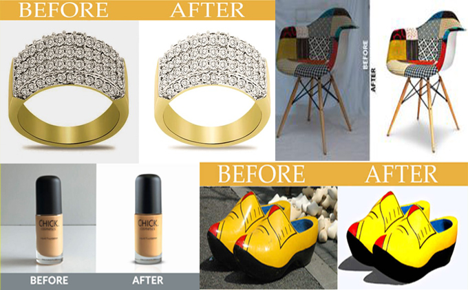 I will do jewelry and product retouch in Photoshop