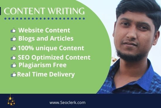 DO 1200 words SEO friendly content writing. Blog writing and article writing