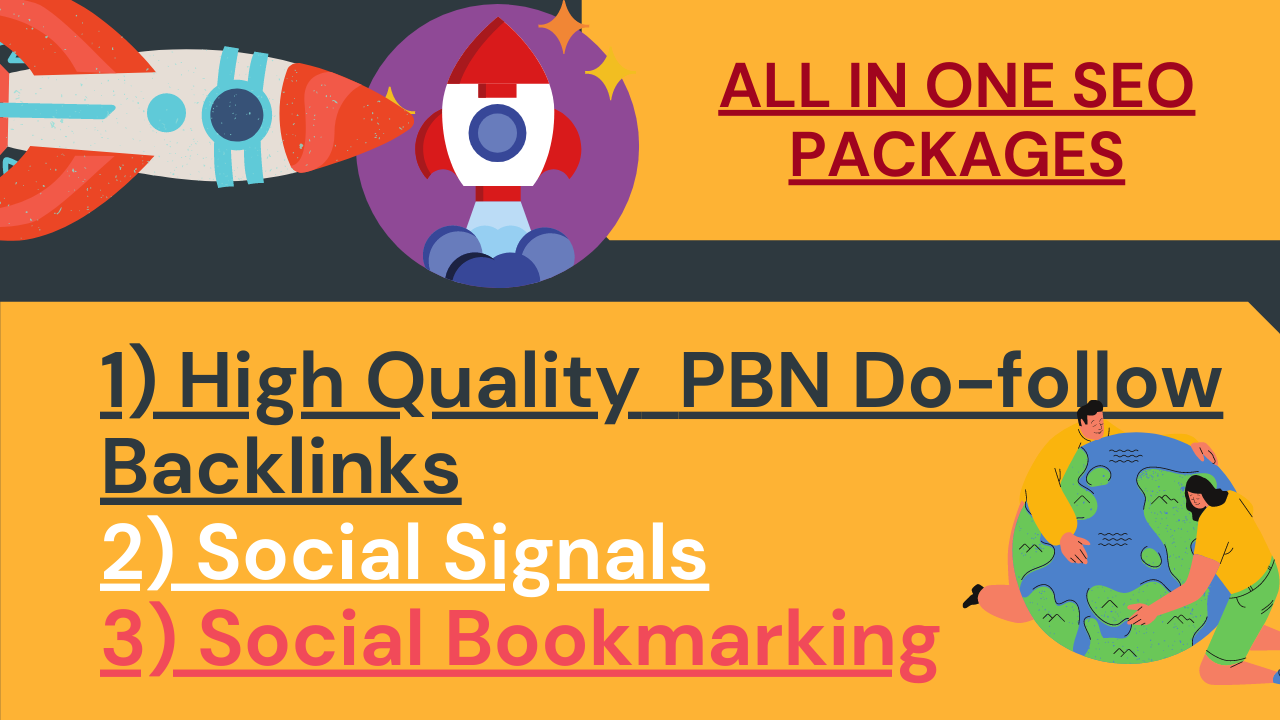 Boost Your Ranking with High Quality Do-Follow SEO Backlinks/ SEO Link buildings for You