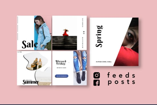I will design awesome instagram and facebook promotional post