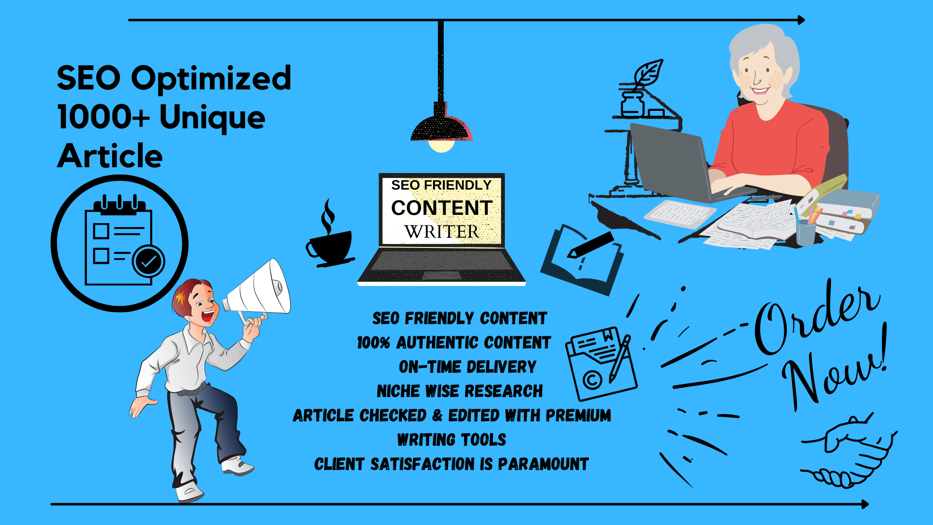 I Will Write 1000+ Words SEO Article For Your Blog Post