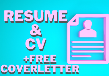 I will write and design a personalized CV or resume + free coverletter
