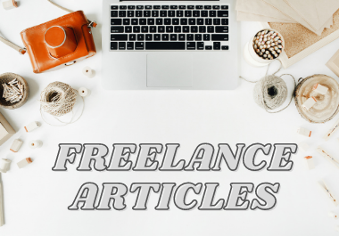I will write impressive & reader-grabbing freelance article
