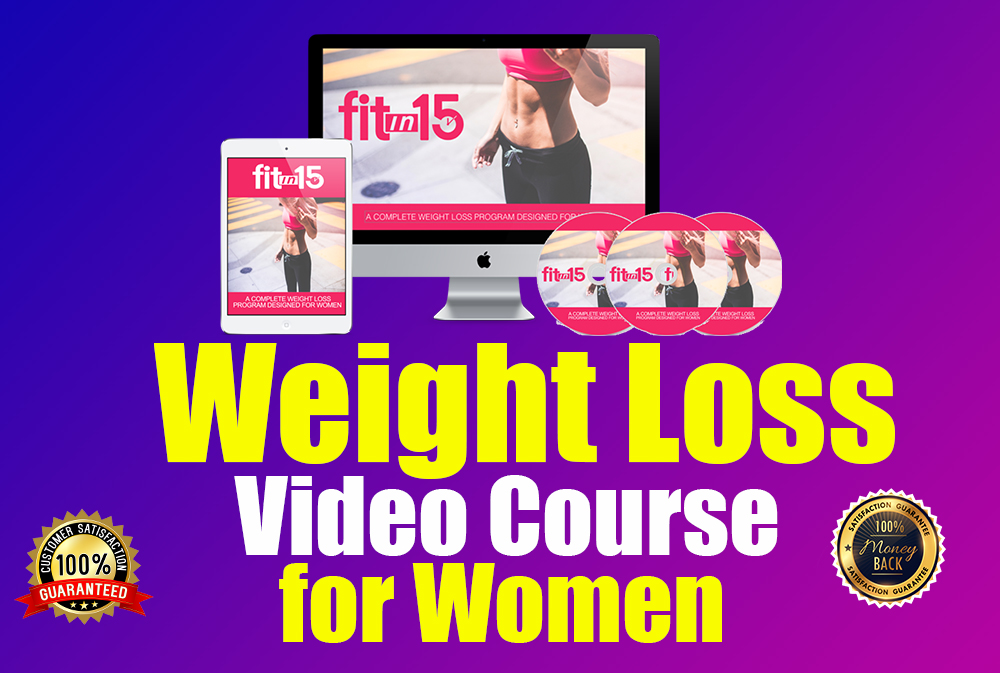 I will give you Weight Loss Video Course for Women