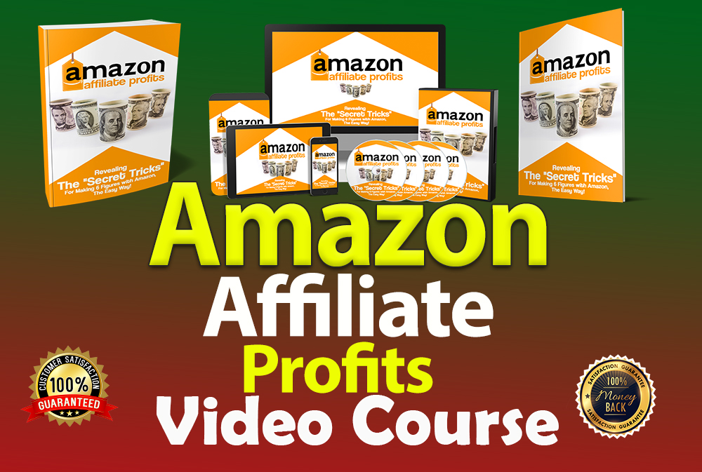 I will give you Amazon Affiliate Profits Professional Video Course