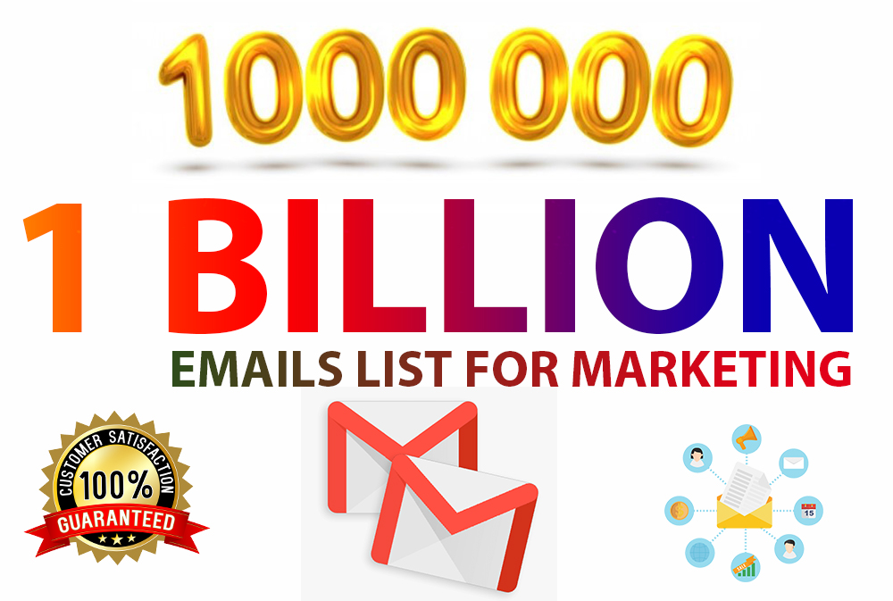 1000 million email list for your any email marketing