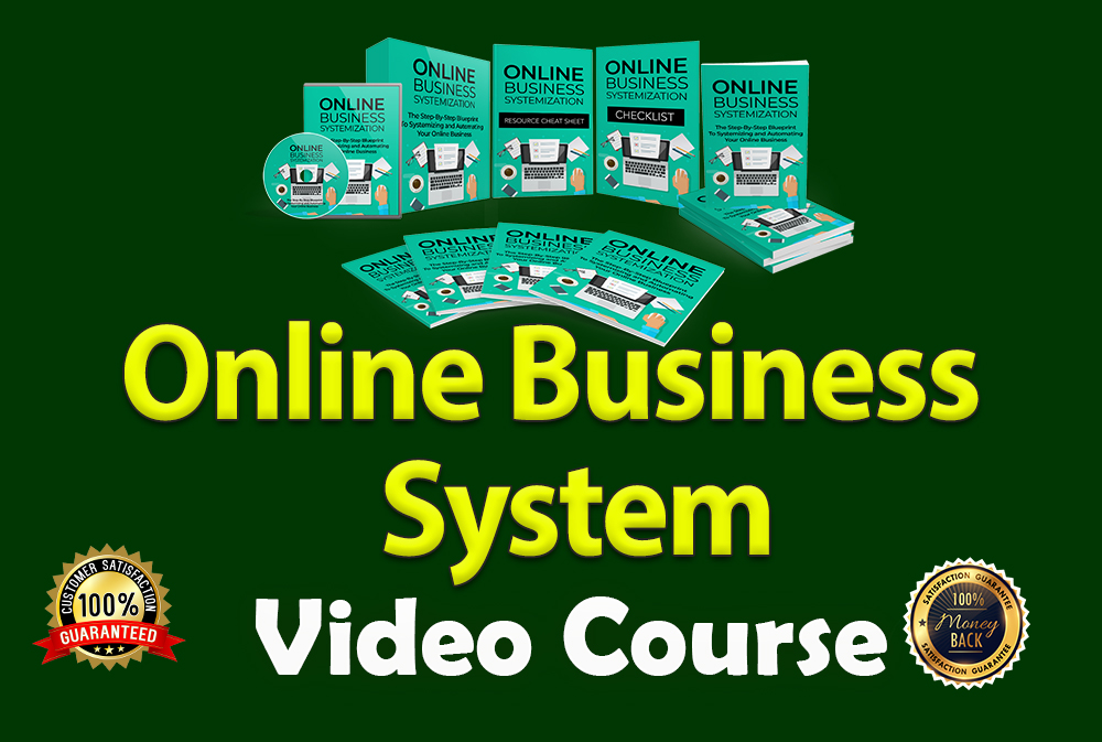 I will give you online business system video course