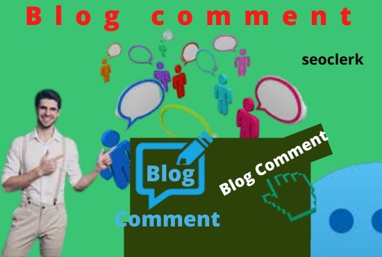 I will create HQ backlinks using blog comment