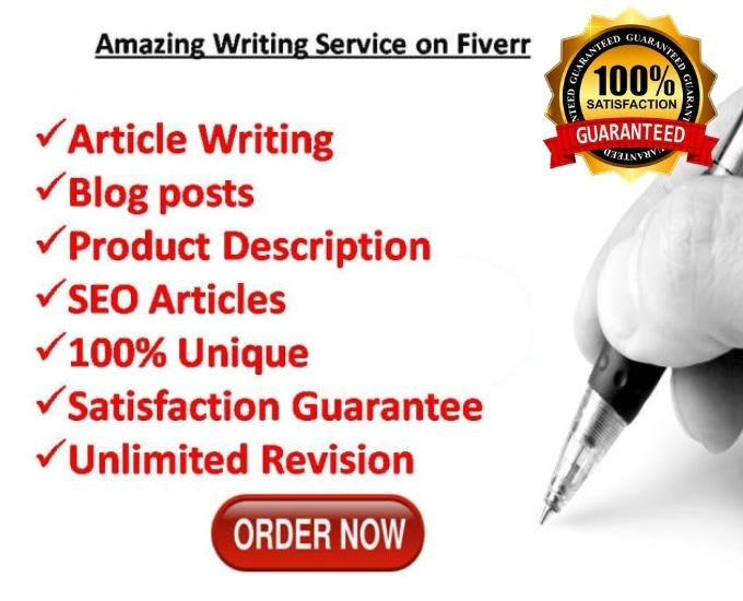 I will write 1000 word SEO friendly blog or article