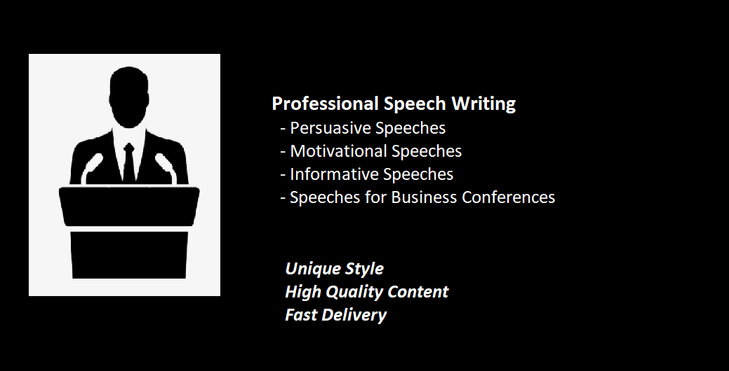 Speech Writing - Your Ultimate Speech Crafting Service