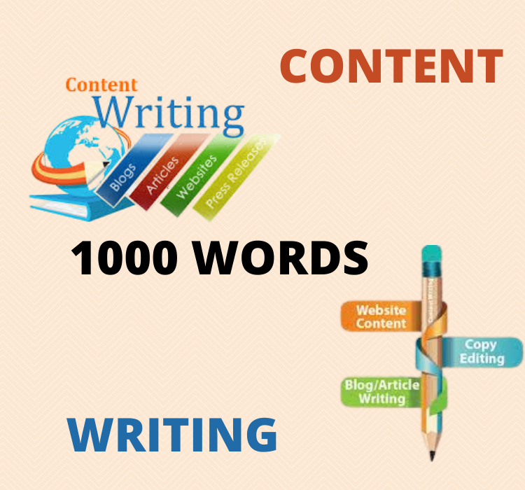 I will write 1000 words article