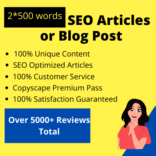 Do 2000 words SEO article writing,  website content or blog writing