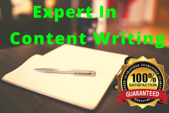 I will do 2000+ words Blog post and website content writing that you will love.