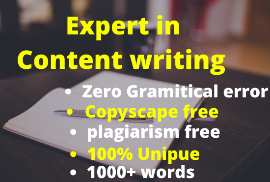 I will do 3000+ words affiliate product content writing