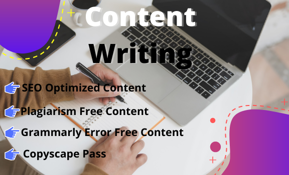 I will write 1000 words high-quality SEO friendly content articles blog posts & on any topic