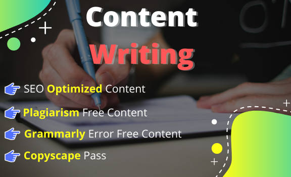I will write 2000 words high-quality SEO content articles blog posts and on any topic