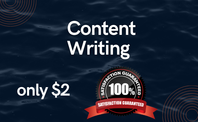I will write 2000 SEO content writing for your blog or website
