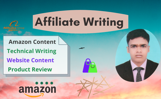 I will be your SEO affiliate content writer,  amazon content creator,  website content writer expert