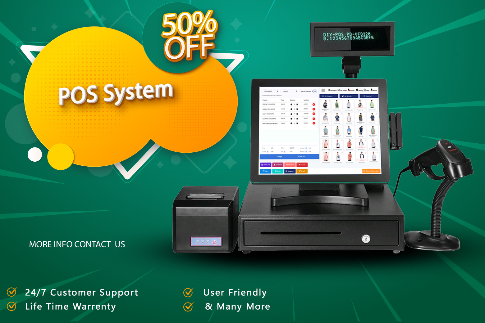 Cloud Based POS & Stork Management System Point of Sale System